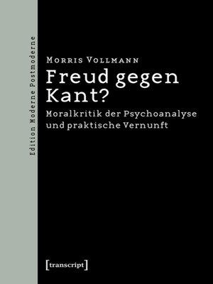 cover image of Freud gegen Kant?
