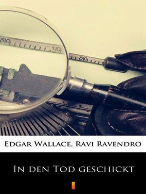 cover image of In den Tod geschickt