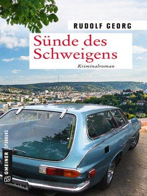 cover image of Sünde des Schweigens
