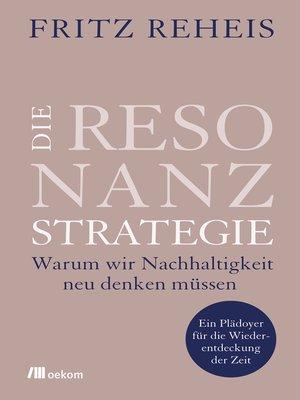 cover image of Die Resonanzstrategie