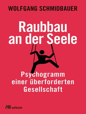cover image of Raubbau an der Seele