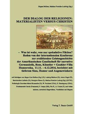 cover image of Der Dialog der Religionen