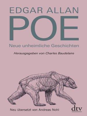 cover image of Neue unheimliche Geschichten