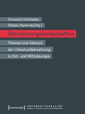 cover image of Übersetzungslandschaften