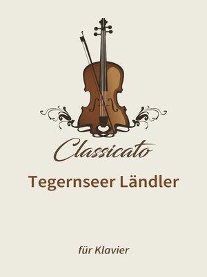 cover image of Tegernseer Ländler