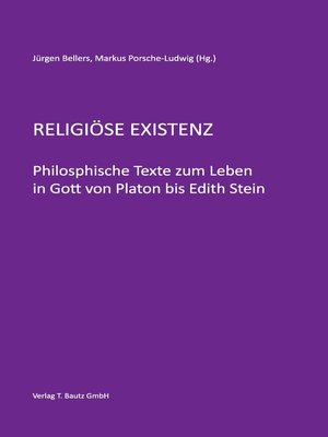 cover image of Religiöse Existenz