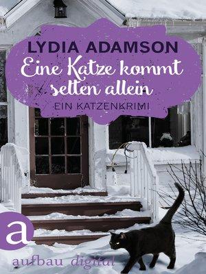 cover image of Eine Katze kommt selten allein