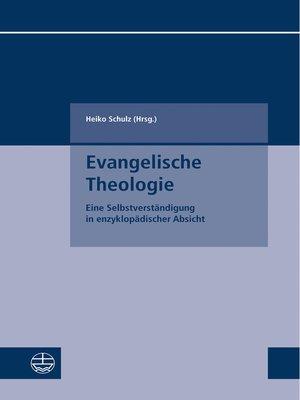 cover image of Evangelische Theologie
