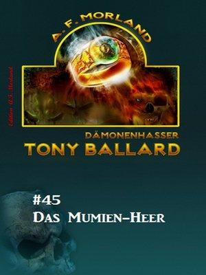 cover image of Tony Ballard #45