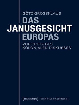 cover image of Das Janusgesicht Europas