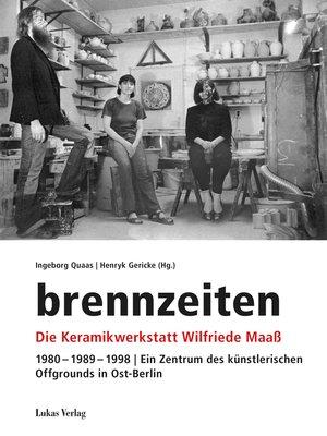 cover image of brennzeiten
