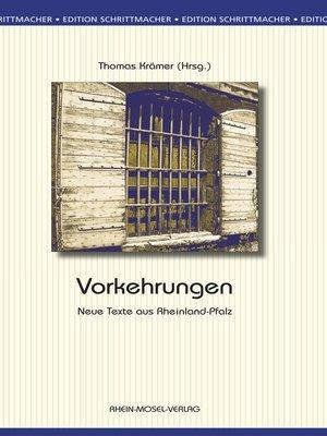 cover image of Vorkehrungen