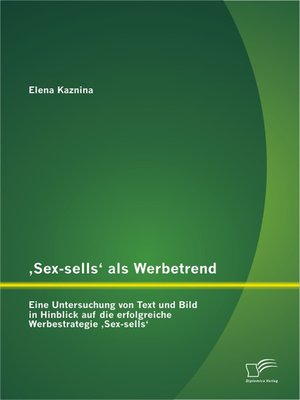 cover image of 'Sex-sells' als Werbetrend
