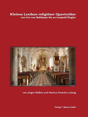 cover image of Kleines Lexikon religiöser Quertreiber