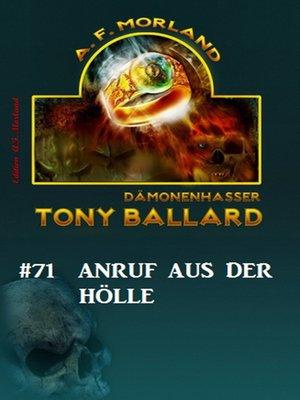 cover image of Tony Ballard # 71