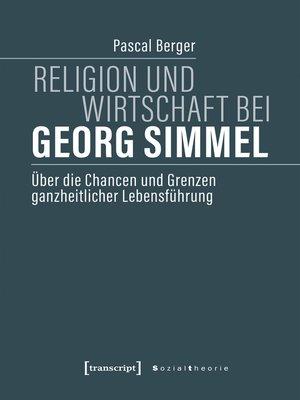 cover image of Religion und Wirtschaft bei Georg Simmel