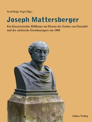 cover image of Joseph Mattersberger
