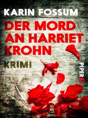 cover image of Der Mord an Harriet Krohn