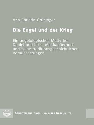 cover image of Die Engel und der Krieg