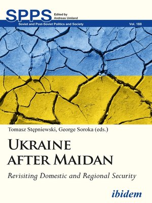 cover image of Ukraine after Maidan