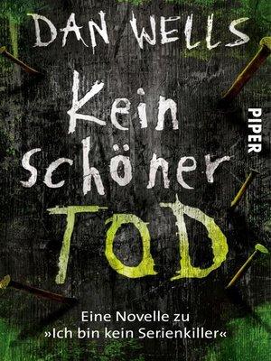 cover image of Kein schöner Tod