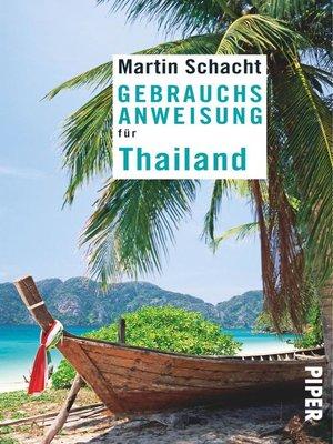 cover image of Gebrauchsanweisung für Thailand