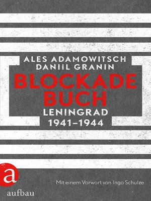 cover image of Blockadebuch