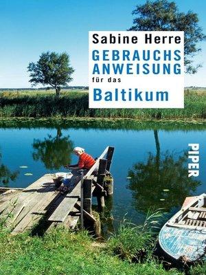 cover image of Gebrauchsanweisung für das Baltikum