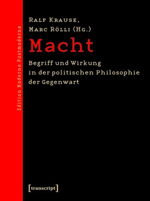 cover image of Macht