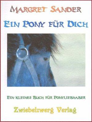 cover image of Ein Pony für Dich