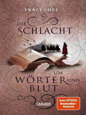 cover image of Die Schlacht um Wörter und Blut (Das Buch von Kelanna 3)