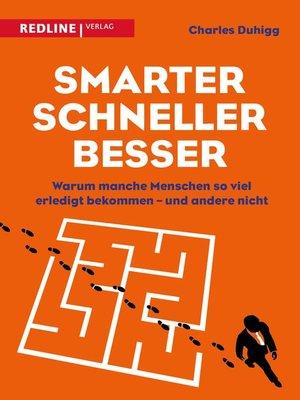 cover image of Smarter, schneller, besser