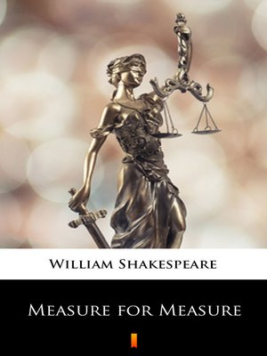 cover image of Measure for Measure