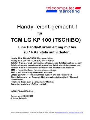 cover image of Tchibo TCM TCM LG KP 100 Tchibo-leicht-gemacht