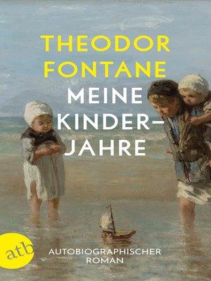 cover image of Meine Kinderjahre