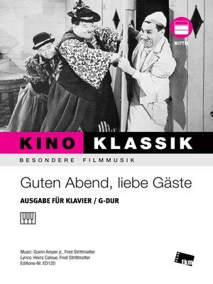 cover image of Guten Abend, liebe Gäste