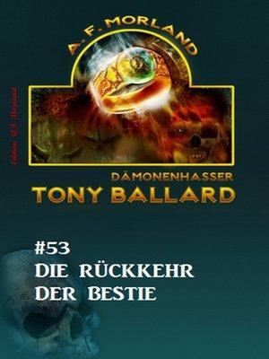 cover image of Tony Ballard #53