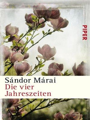cover image of Die vier Jahreszeiten
