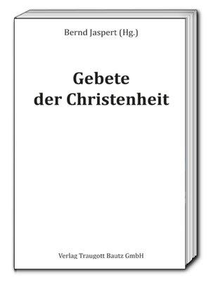 cover image of Gebete der Christenheit