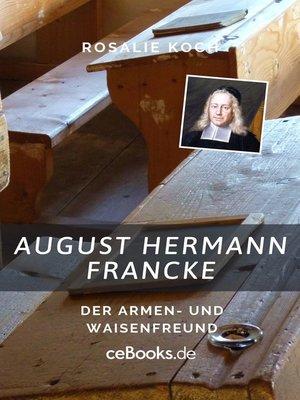 cover image of August Hermann Francke