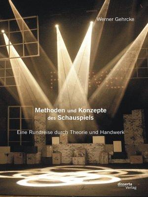 cover image of Methoden und Konzepte des Schauspiels