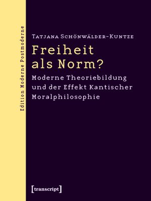 cover image of Freiheit als Norm?