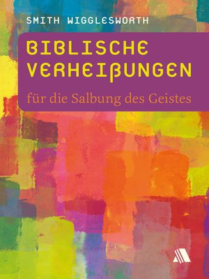cover image of Biblische Verheißungen für die Salbung des Geistes