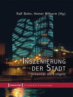 cover image of Inszenierung der Stadt