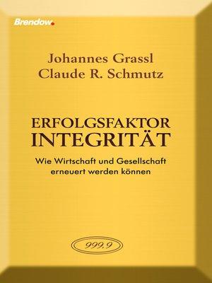 cover image of Erfolgsfaktor Integrität