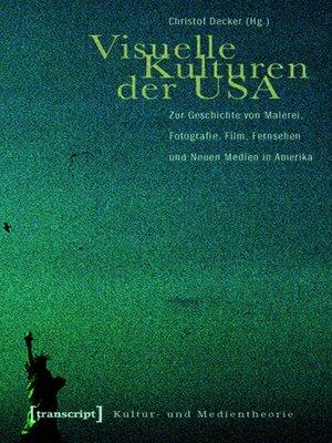 cover image of Visuelle Kulturen der USA