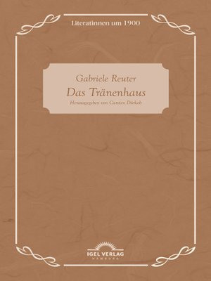 cover image of Gabriele Reuter