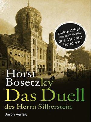 cover image of Das Duell des Herrn Silberstein