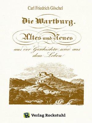 cover image of Die Wartburg 1826