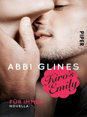cover image of Kiro's Emily – Für immer